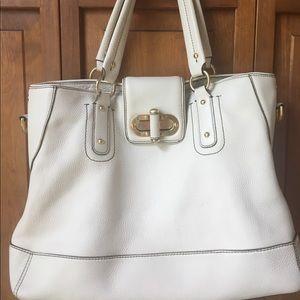 Ann Taylor genuine leather handbag